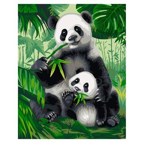 Купить ФРЕЯ Набор для раскрашивания по номерам Хозяева бамбукового леса , 30x40 см (PNB/R2 №42), Картины по номерам и контурам