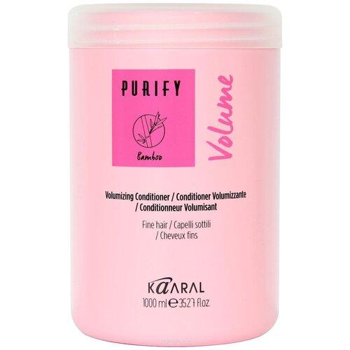 Kaaral кондиционер Purify Volume, 1000 мл kaaral кондиционер для окрашеных волос 1000 мл kaaral purify