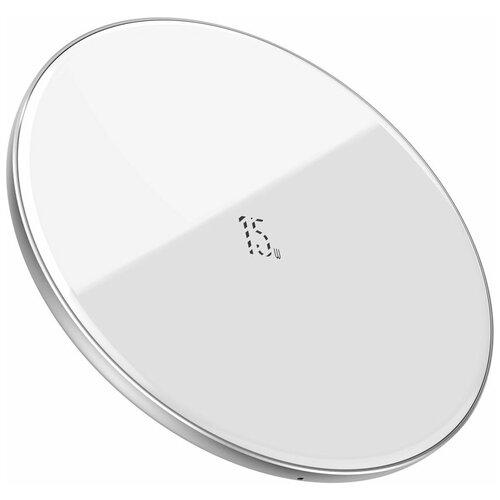 Фото - Беспроводная сетевая зарядка Baseus Simple Wireless Charger 15W (Updated Version for Type-C) беспроводная сетевая зарядка baseus whirlwind desktop wireless charger черный