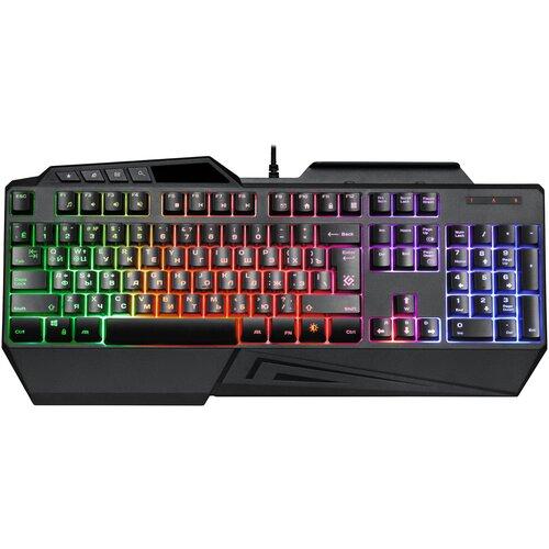 Игровая клавиатура Defender GK-310L Black