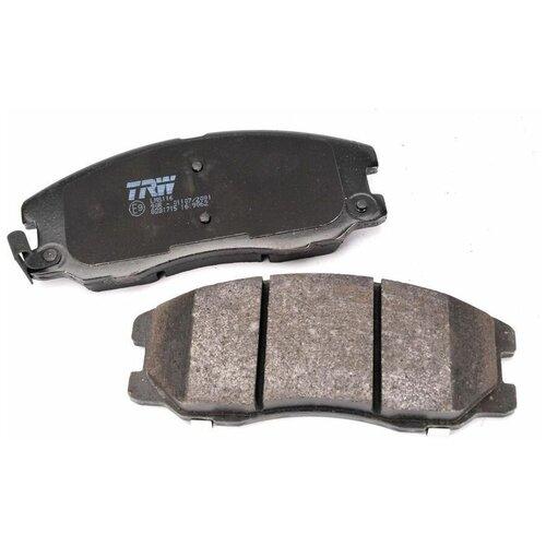 Дисковые тормозные колодки передние TRW GDB1715 для Chevrolet Captiva, Chevrolet Equinox, Opel Antara, Pontiac Torrent (4 шт.)