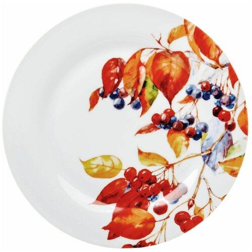 Тарелка десертная Dasen Акварель 19 см салатник dasen бежевая классика диаметр 14 см
