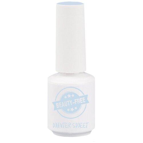 Фото - Гель-лак для ногтей Beauty-Free Winter Sweet, 8 мл, голубой гель лак для ногтей beauty free winter sweet 4 мл оттенок пурпурно розовый