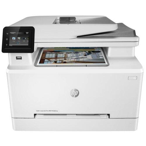 Фото - МФУ HP Color LaserJet Pro M282nw, белый мфу hp laserjet pro m521dn