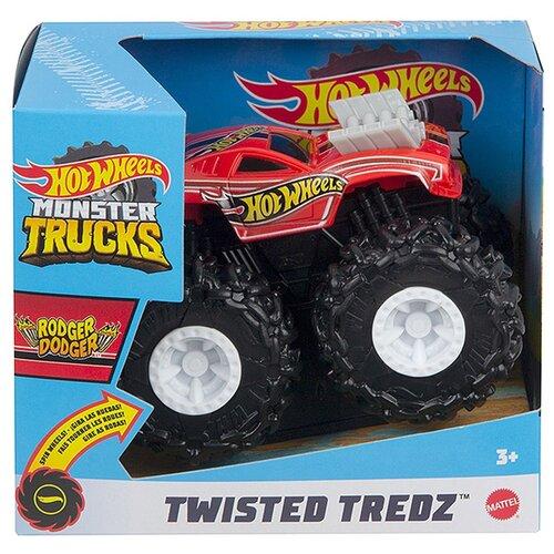 Купить Монстр-трак Hot Wheels Monster Trucks Rodger Dodger 1:43 красный/черный, Машинки и техника