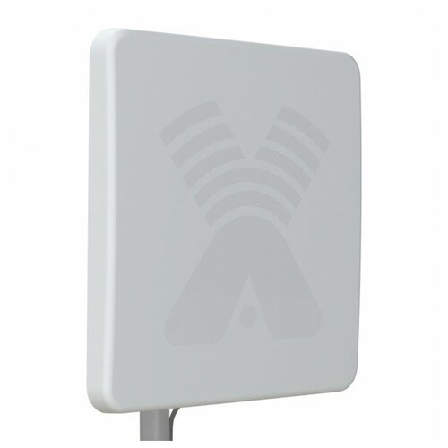 Антенна Agata MIMO 2x2 3G/4G панельная, усиление 15-17дБ, N-female, 50 Ом