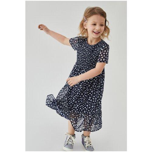 Фото - Платье для девочек размер 122, темно-синий, ТМ Acoola, арт. 20220200558 платье mayoral размер 7 122 темно синий