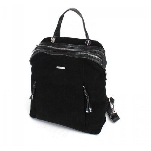 Женский рюкзак экокожа(искусственная кожа) + натуральная замша Velina Fabbiano 532020
