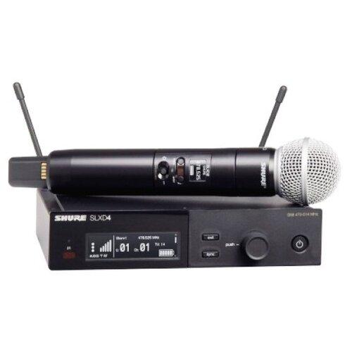 Shure SLXD24E/SM58 H56 Одноканальная цифровая радиосистема