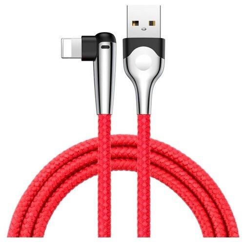 Кабель Baseus Sharp-Bird Mobile Game USB - Lightning (CALMVP-D) 1 м, красный кабель baseus couple magnetic lightning usb calfd 1 м синий красный