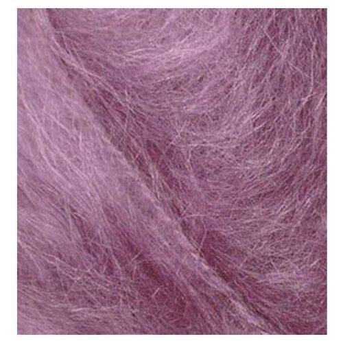 Купить Пряжа для вязания Ализе Mohair classic NEW (25% мохер, 24% шерсть, 51% акрил) 5х100г/200м цв.169 роза, Alize