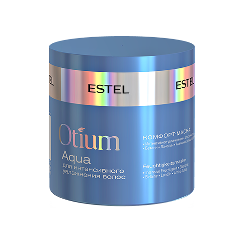 Купить Estel Professional OTIUM AQUA Комфорт-маска для интенсивного увлажнения волос, 300 мл