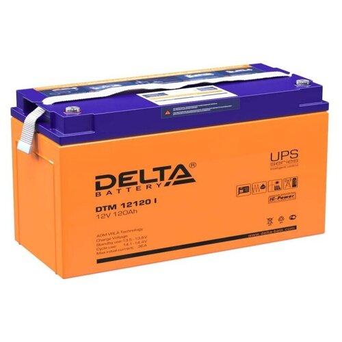 Аккумуляторная батарея DELTA Battery DTM 12120 I 120 А·ч аккумуляторная батарея delta battery dtm 1233 i 33 а·ч