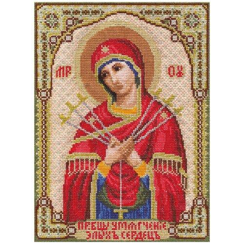 Купить Набор для вышивания PANNA Икона Божией Матери Умягчение Злых Сердец 18x24 см, Наборы для вышивания