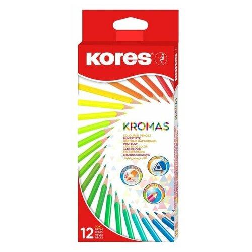 Kores Карандаши цветные Kromas 12 цветов (1054855)