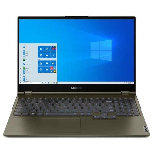 "Ноутбук Lenovo Legion C7 15IMH05 (Intel Core i7 10875H 2300MHz/15.6""/1920x1080/32GB/1TB SSD/DVD нет/NVIDIA GeForce RTX 2070 Super Max-Q 8GB/Wi-Fi/Bluetooth/Windows 10 Home) 82EH002YRU dark moss"