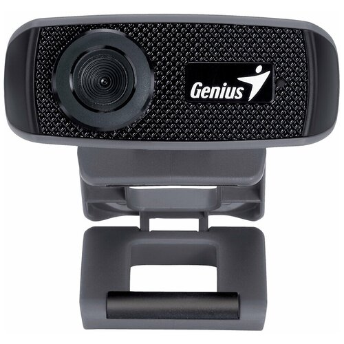 Фото - Веб-камера Genius FaceCam 1000X, черный web camera genius facecam 1000x v2 720p 30 fps bulld in microphone manual focus black