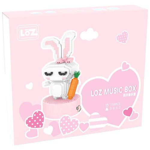 Фото - Конструктор LOZ MusicBox 9852 Музыкальная шкатулка Кролик конструктор loz brickheadz 1451 винни пух
