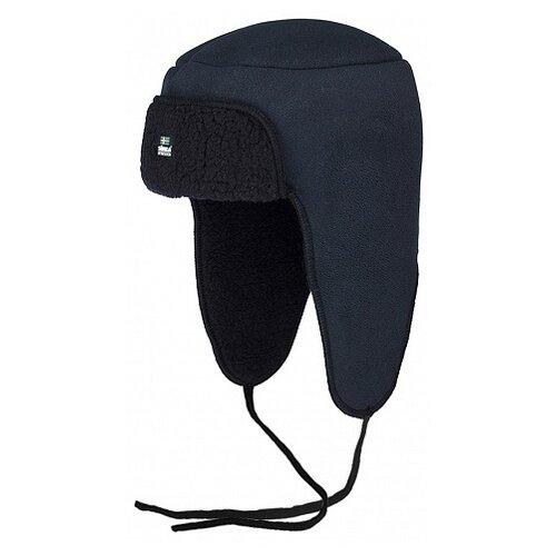 Купить Шапка-ушанка Satila размер 58, черный, Головные уборы