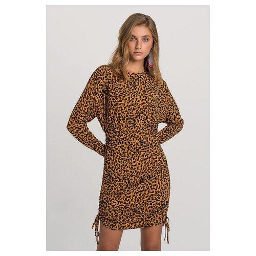 Платье befree 1931604507 женское Цвет Мультиколор мультиколор99 Анималистичный р-р 46 M юбка quelle befree 1024253