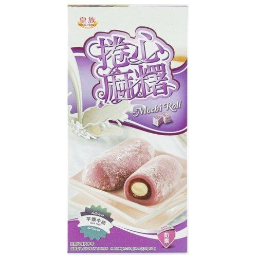 Десерт рисовый Моти Royal Family и Моти-ролл со вкусом таро (батата), 150г.
