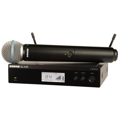 SHURE BLX24RE/SM58 M17 Радиосистема с ручным передатчиком SM58