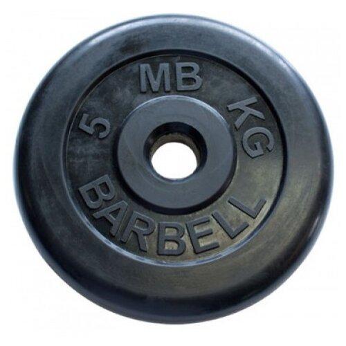 Фото - Диск MB Barbell Стандарт MB-PltB/C31 5 кг черный диск mb barbell mb atletb26 25 кг черный