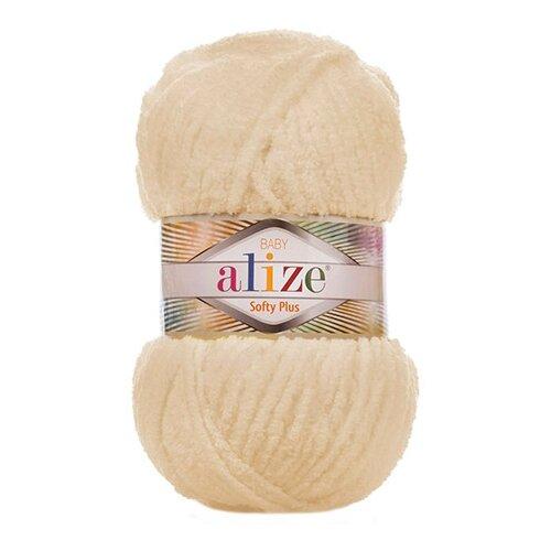 Купить Пряжа Alize 'Softy Plus' 100г 120м (100% микрополиэстер) (310 шампань), 5 мотков