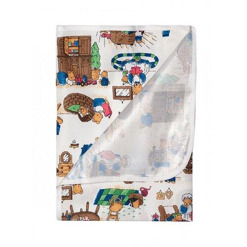 Купить Пелёнка Multi Diapers непромокаемая, для пеленального столика, из микрофибры, с рисунком, 75х75 см, Семья, Пеленки, клеенки