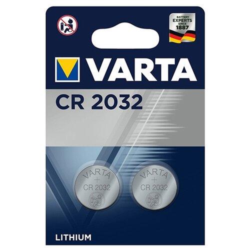 Фото - Батарейка VARTA CR2032, 2 шт. батарейка sonnen cr2032 1 шт блистер