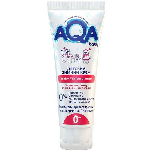 AQA baby Детский зимний крем, 75 мл недорого
