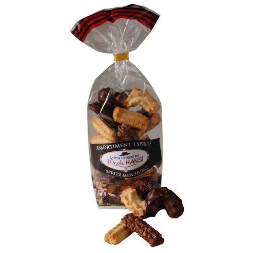 Ассорти печенья в шоколаде
