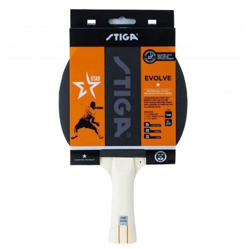 Фото - Ракетка для настольного тенниса Stiga Evolve WRB 1*, арт.1211-8318-01 stiga control advance арт 1887 01