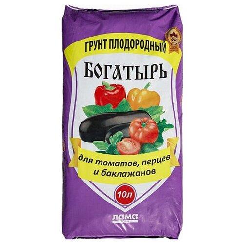Фото - Грунт ЛамаТорф Богатырь для томатов, перцев и баклажанов 10 л. грунт veltorf premium для томатов и перцев 10 л