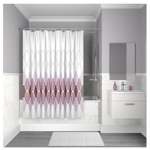 Штора для ванной комнаты Iddis D06P218i11 200х180 см полиэстер