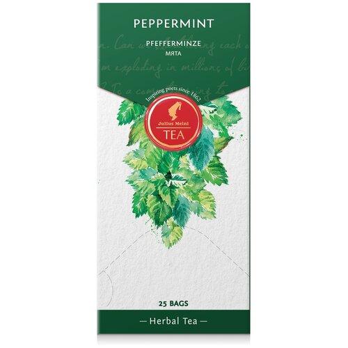 julius meinl семь морей чай улун листовой 50 г Чай травяной Julius Meinl Peppermint в пакетиках, 25 шт.