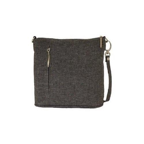 Сумка дамская/Janelli/текстиль серый 934-5