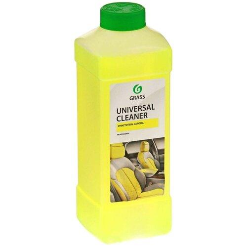 Grass Очиститель салона автомобиля Universal Cleaner (112100), 1 л очиститель салона grass universal cleaner 20 кг
