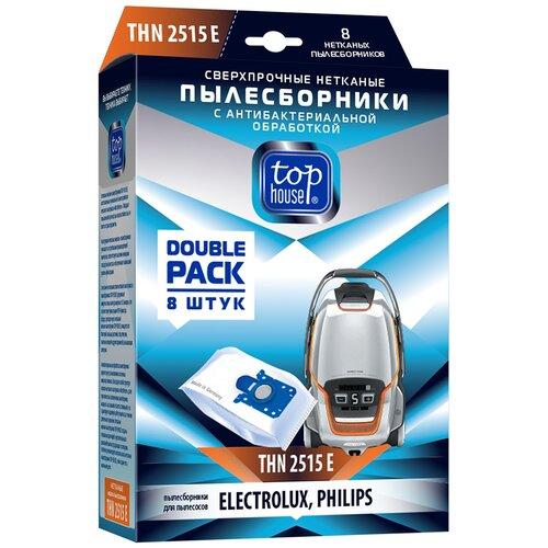 Top House Пылесборники THN 2515 E белый 8 шт. top f e v by francesca e versace top