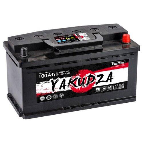 Автомобильный аккумулятор YAKUDZA 6СТ-100.0 VL