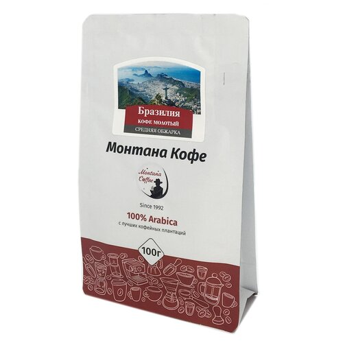 Кофе молотый Montana Бразилия, 100 г