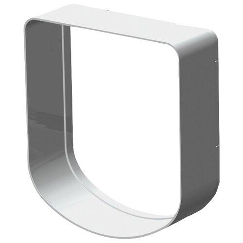 Тоннель для дверцы Ferplast Swing 3/5 16.3х18.4 см белый туннель для автоматической двери ferplast swing 3 5 16 3 х 5 х 18 4 см белый