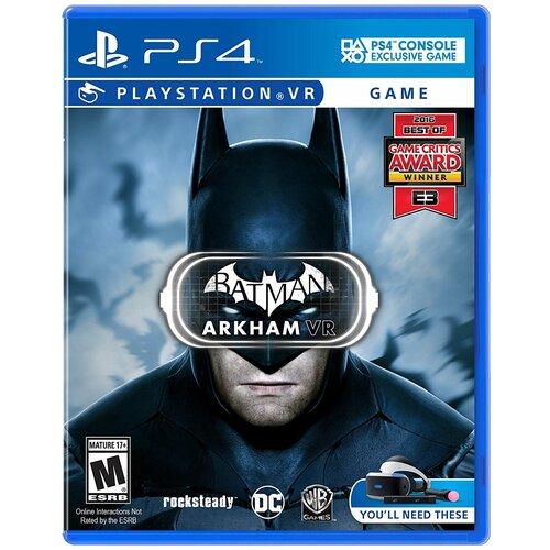 Batman: Arkham VR (только для VR) (PS4)