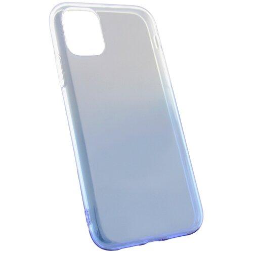Защитный чехол для iPhone 11 / на Айфон 11 / бампер / накладка на телефон / Градиент / Синий