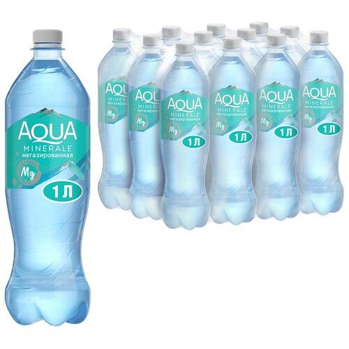 Фото - Вода питьевая Аква Минерале плюс с магнием негазированная, ПЭТ, 12 шт. по 1 л вода питьевая aqua minerale негазированная 2 л