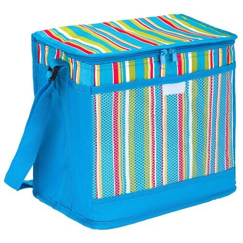Фото - Green Glade Сумка изотермическая Р2015 голубой/полоска 15 л тент для душа туалета green glade ardo голубой