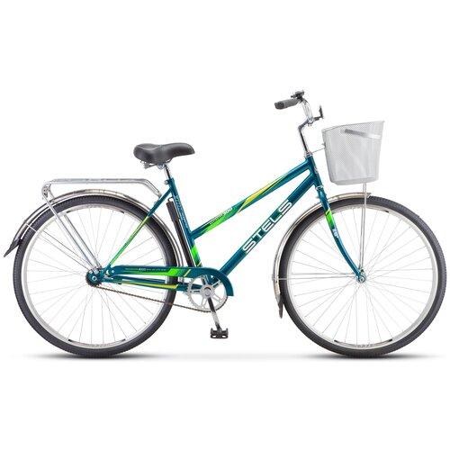 """Городской велосипед STELS Navigator 300 Lady 28 Z010 (2021) морская волна 20"""" (требует финальной сборки)"""