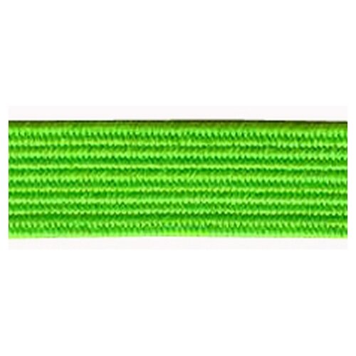 Купить Резинка продежка, 6, 6 мм, цвет неоновый зеленый 64% полиэстр, 36% латекс, PEGA, Технические ленты и тесьма
