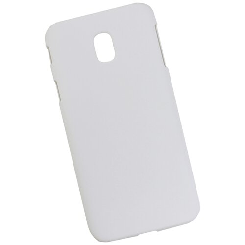 Чехол для Samsung Galaxy J3 пластиковый прорезиненный белый