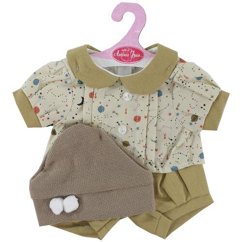 Antonio Juan Летний комплект одежды для кукол 42 см 0142Z-15 хаки фото